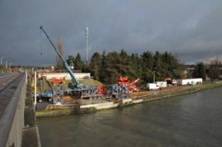 Eerste onderdelen voor brug over Albertkanaal in aantocht