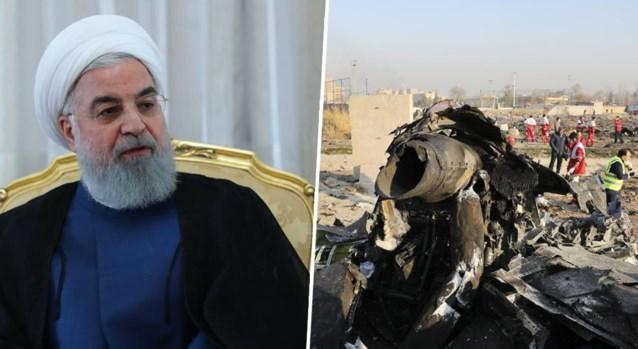 Iraanse president Rohani belooft aan Oekraïense ambtgenoot Zelensky dat schuldigen van neergehaald vliegtuig gestraft worden