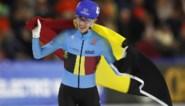 """Beresterke Bart Swings pakt Europese titel op de massastart in Heerenveen: """"Het was stressen, maar dit is wraak voor het WK"""""""
