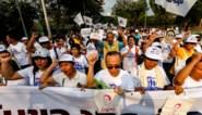 Duizenden demonstranten eisen in Thailand meer democratie