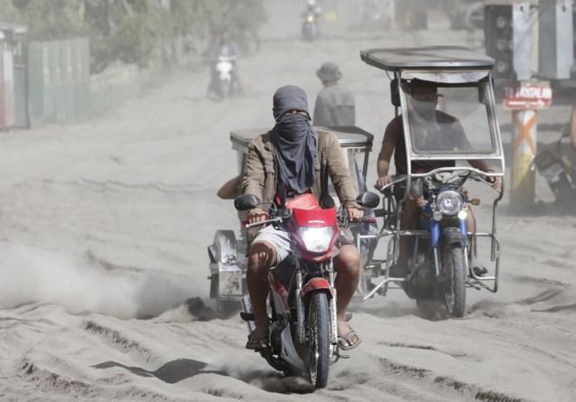 Man komt om in regen van as bij vulkaan Filipijnen