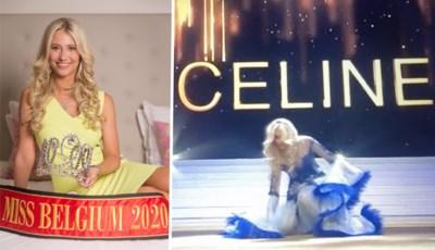 """Waren mysterieuze bh en uitglijder van Miss België opgezet spel? """"Toen ze viel, dacht ik: zij gaat winnen"""""""