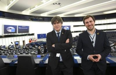 Discussie over Catalanen blijft duren, maar Puigdemont en Comin voorlopig toch welkom in Europees Parlement