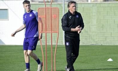 """Anderlecht-coach Frank Vercauteren blikt terug op stage achter gesloten deuren: """"Er is geen zekerheid over Vanden Borre"""""""