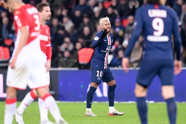 Monaco houdt PSG in Parijs in bedwang na spektakelmatch met zes goals