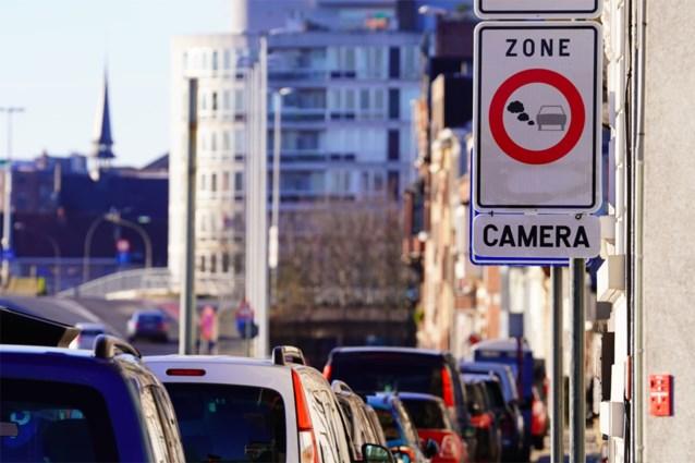 """5.000 auto's in lage-emissiezone zonder vergunning: """"Camera's doen duidelijk hun werk"""""""