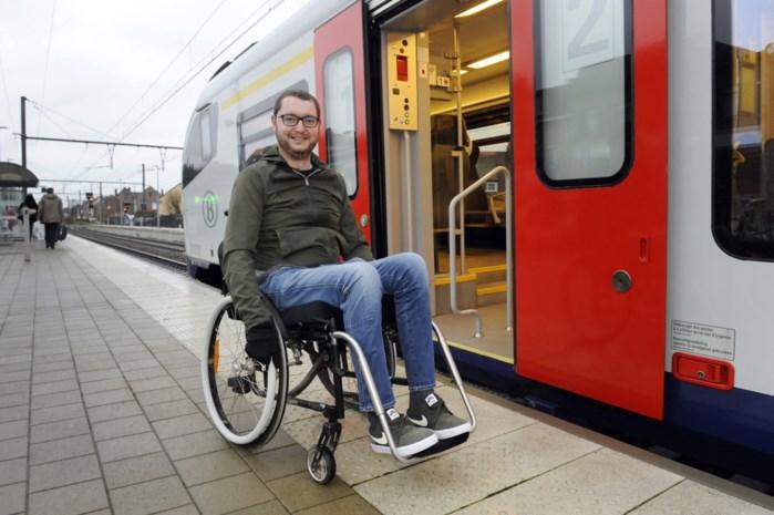 """OPINIE. """"NMBS investeert in 'treinen van de toekomst', maar voor mij zullen ze opnieuw niet toegankelijk zijn. Is het dan zo moeilijk?!"""""""