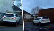 Gehaaste bestuurder tracht nog snel auto te passeren, maar dat spijt hem snel