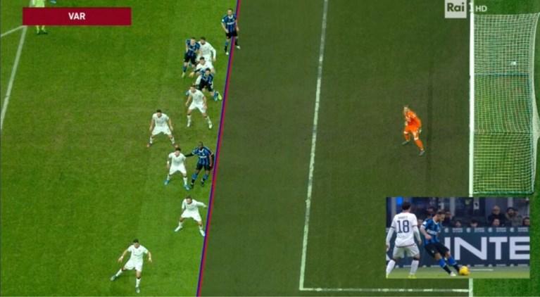 Lukaku scoort eerst snelste goal van het seizoen en schiet er dan nog eentje tegen de touwen in bekermatch tegen Nainggolan