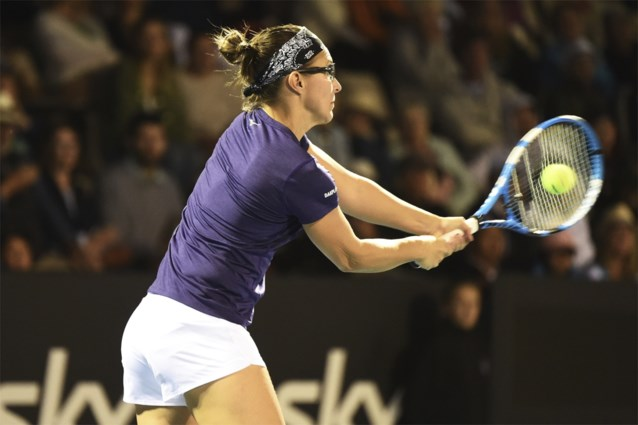 Van Uytvanck en Flipkens allebei uitgeschakeld in eerste ronde van WTA Hobart