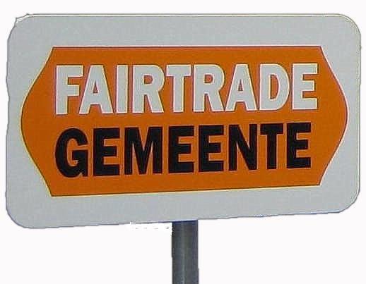 """Fairtradebord spoorloos: """"Het was nog niet opgevallen dat het bord verdwenen is"""""""