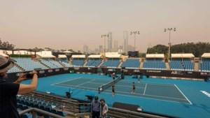 Kwalificatiewedstrijden Australian Open uitgesteld wegens rook van bosbranden