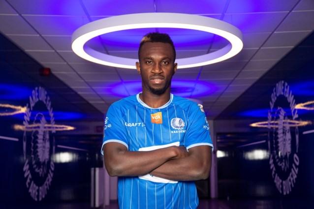 AA Gent strikt Ivoriaanse aanvaller Anderson Niangbo