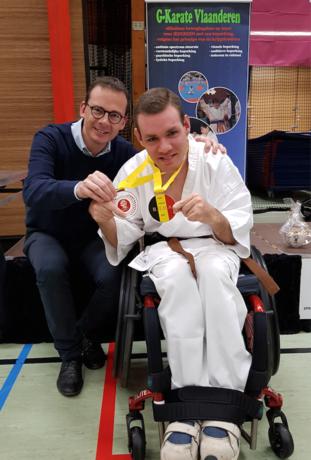 G-Karateka van Leopoldsburg naar Rusland