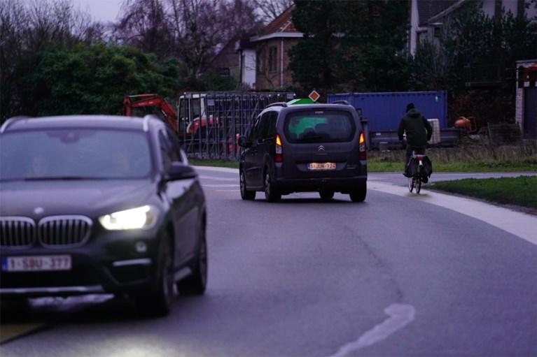 Gevaarlijke straat in Drongen wordt veiliger voor fietsers, over vier jaar