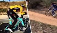 Wout van Aert voor het eerst weer op tijdritfiets, Mathieu van der Poel verkiest grind terwijl ploegmaats op asfalt rijden
