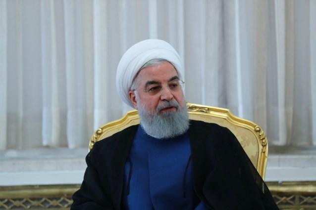 """Iraanse president Rohani sust gemoederen: """"Ik wil oorlog vermijden"""""""