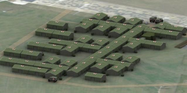 Defensie koopt super-de-luxe veldhospitaal voor 12 miljoen euro