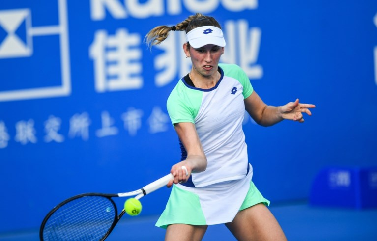 Elise Mertens grijpt naast stek in halve finales op WTA Shenzhen