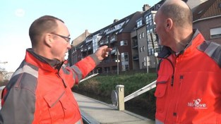 VIDEO. Stadsmedewerkers redden man uit Dender in Ninove: drenkeling onderkoeld naar ziekenhuis