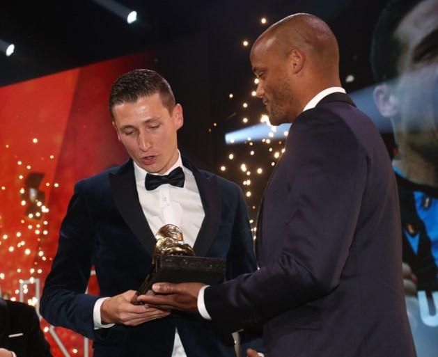 """Herbeleef hier de persconferentie van Gouden Schoen Hans Vanaken: """"Het was een eer om de trofee uit handen van Kompany te krijgen"""""""