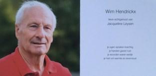 Gemeenteraad geeft applaus aan overleden ex-schepen Wim Hendrickx