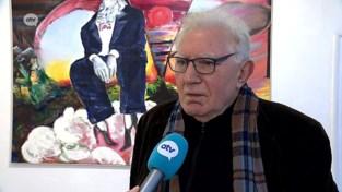 VIDEO. Jan Decleir laat een andere kant zien als kunstenaar