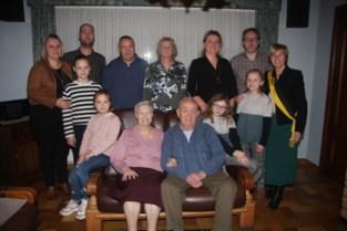 Familie met viergeslacht viert 65ste huwelijksverjaardag