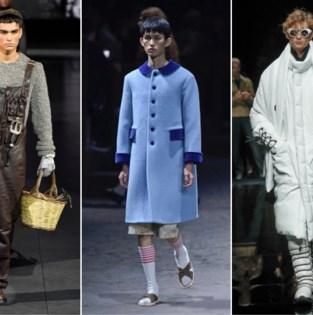 Vijf hoogtepunten van Milan Fashion Week voor mannen