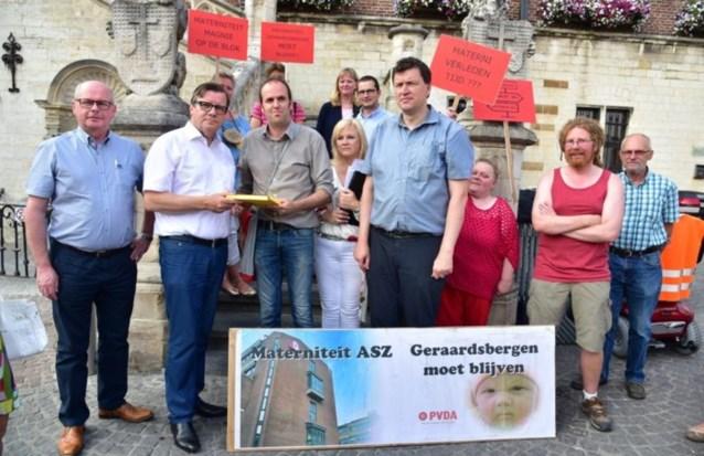 """SP.A en PVDA: """"Materniteit ASZ had niet moeten sluiten"""""""