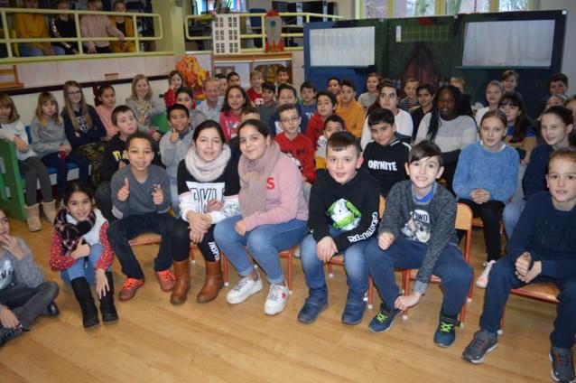Jeugdschrijver bezoekt Basisschool GO! De Reigers