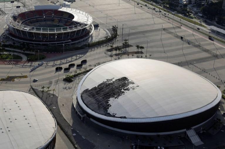 """Amper vier jaar na de Spelen: verloederd olympisch park van Rio gesloten wegens """"niet veilig genoeg"""""""