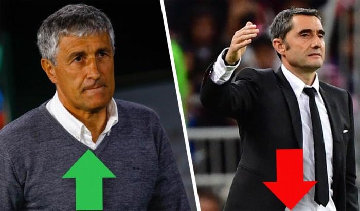 """""""De wissel van de generatie"""": drie hete hangijzers waarom Barça kiest voor nobele onbekende Quique Setién als nieuwe trainer"""