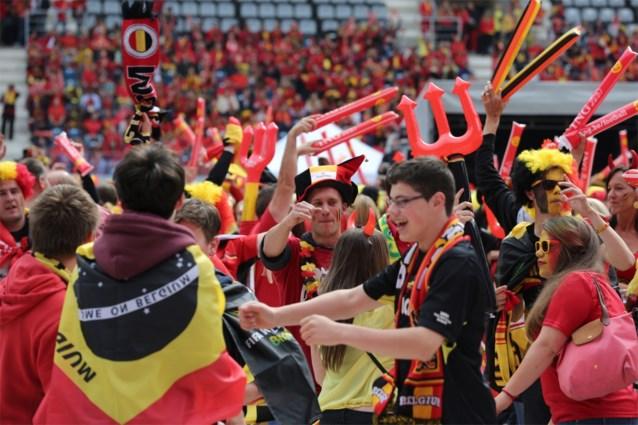 EK-wedstrijden Rode Duivels allemaal op groot scherm op Sint-Pietersplein