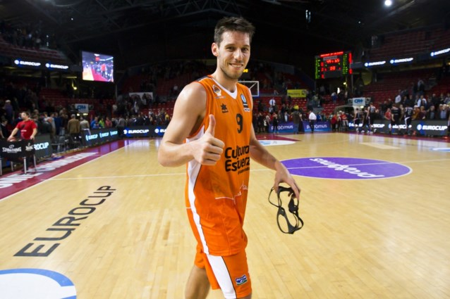 Sam Van Rossom boekt met Valencia tiende zege in Euroleague basketbal