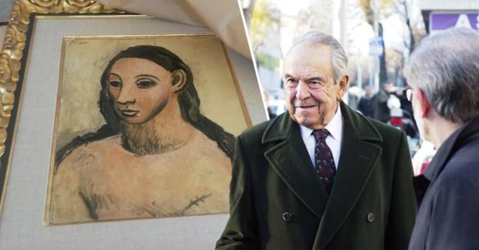 Zou de Picasso aan de muur of onder de hamer eindigen? Miljardair krijgt monsterboete voor smokkel van schilderij