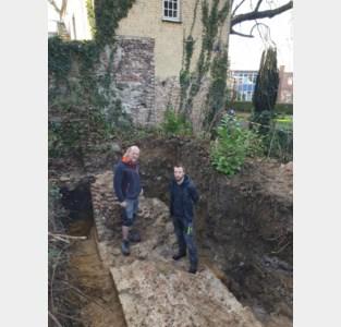Archeologen leggen fundering van verdwenen abdijkerk bloot