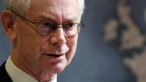 Herman Van Rompuy geeft geen interviews meer over politiek (en breekt lans voor regering zonder CD&V)