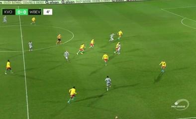 Waasland-Beveren doet onderin gouden zaak na zege tegen KV Oostende