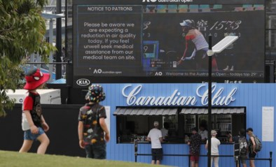 Australian Open zal wedstrijden uitstellen bij luchtvervuiling