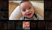 Dit gebeurt er wanneer je papa's voor de kinderen laat zorgen: Baby zingt AC/DC's Thunderstruck
