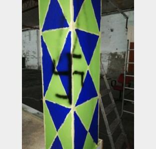 Carnavalsgroep AKV A'join slachtoffer van vandalisme