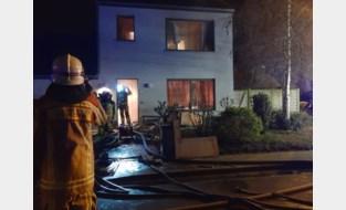 Gaskachel veroorzaakt woningbrand, maar brandweer kan erger voorkomen