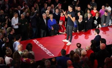 De nieuwe stijl van SP.A met Conner Rousseau: meezingen, servetten zwaaien en Paul Magnette op sneakers