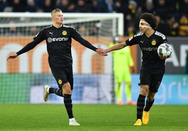 Borussia Dortmund wint na onwaarschijnlijke remonte: nieuwkomer Erling Haaland maakt meteen hattrick na invalbeurt