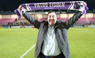 """Patro Eisden-voorzitter Salar Azimi daagt uitsupporters uit na belangrijke zege: """"Spijt? Ik zou het zo opnieuw doen"""""""