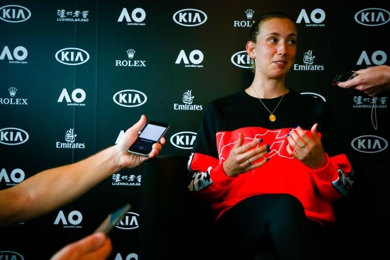 """Coach van Elise Mertens: """"Ze moet nog beter omgaan met gespannen momenten"""""""