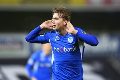 """Genk-nieuweling is zoon van iconische Noorse doelman: """"Urenlang heb ik in de tuin schoten van hem gestopt"""""""