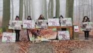 """Actievoerders duiken op tijdens stille drukjacht: """"Everzwijnen worden onterecht gereduceerd tot plaag"""