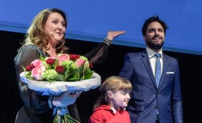 "Gwendolyn Rutten houdt nieuwjaarsspeech: geen woord over N-VA maar wel ""l'union fait la force"""